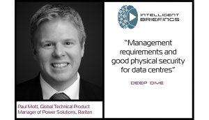 Deep Dive – Paul Mott, Global Technical Product Manager – Power for Raritan